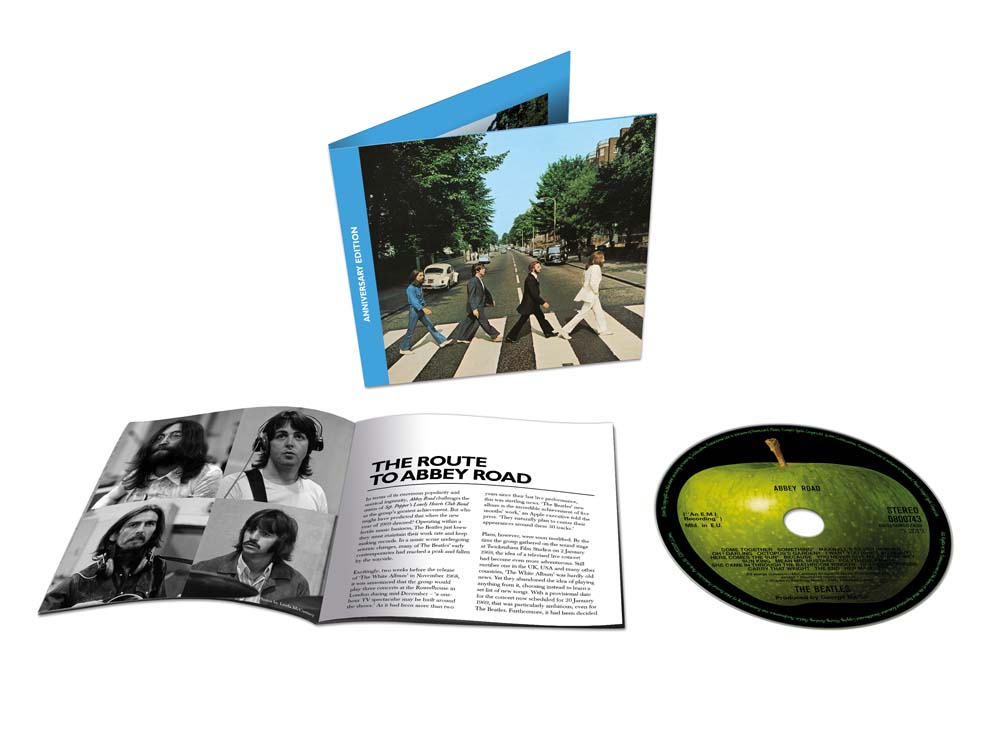 Remastered 50th anniversary CD release for The Beatles' Abbey Road