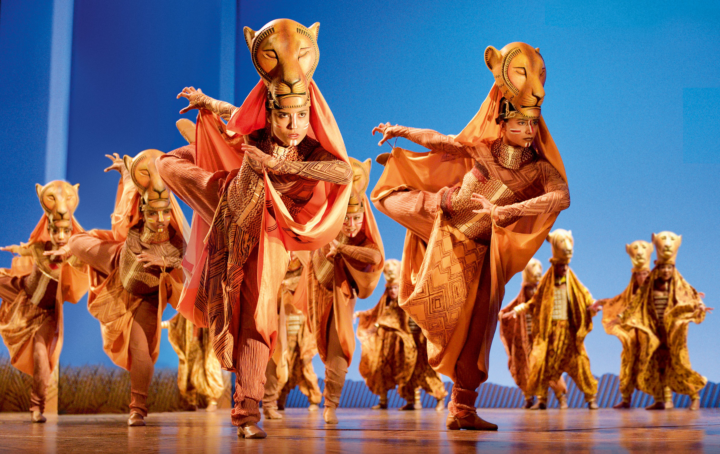 A scene from Disney's The Lion King which comes to Bristol Hippodrome from September 7 until November 23, 2019. Photo by Deen van Meer