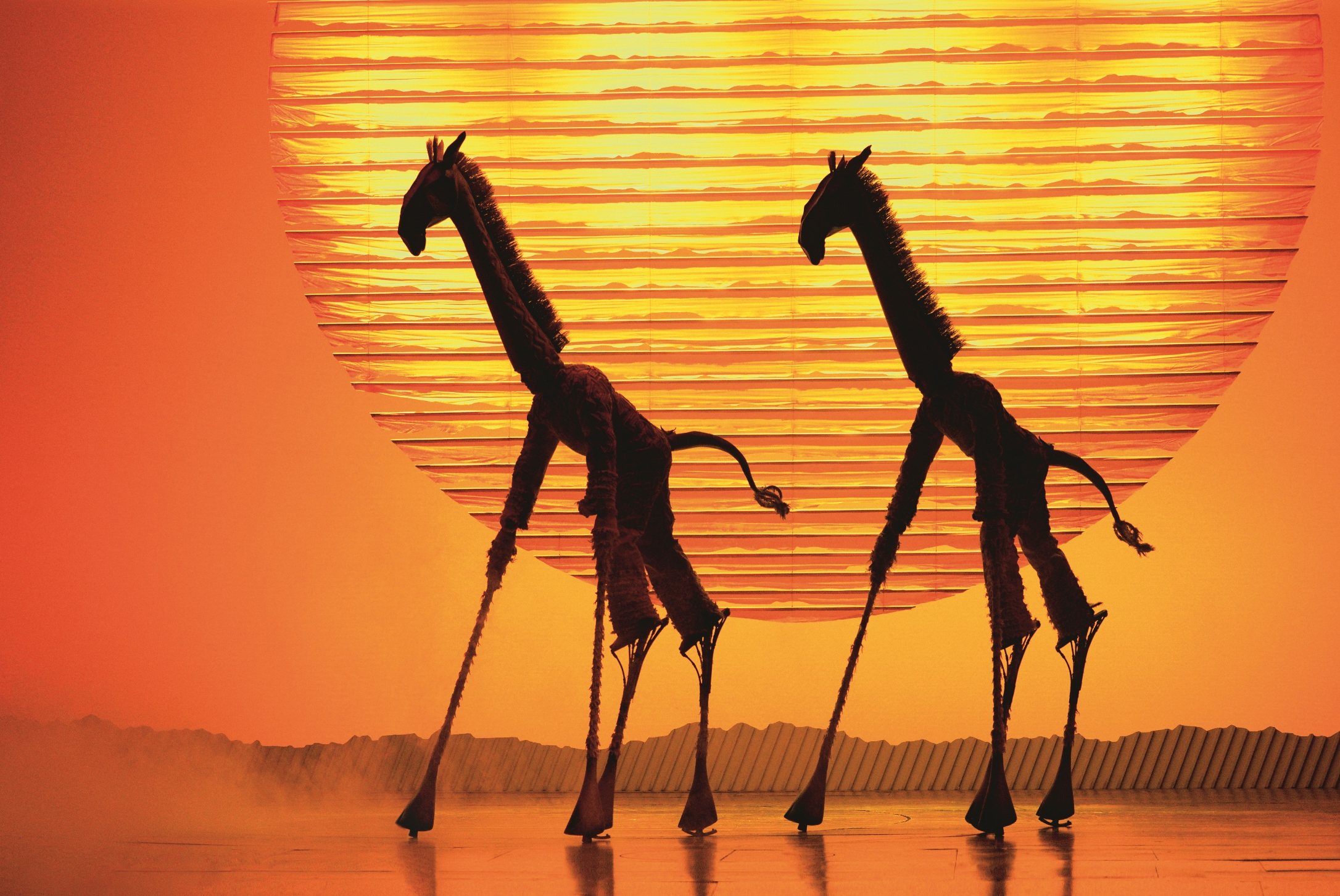 A scene from Disney's The Lion King which comes to Bristol Hippodrome from September 7 until November 23, 2019.