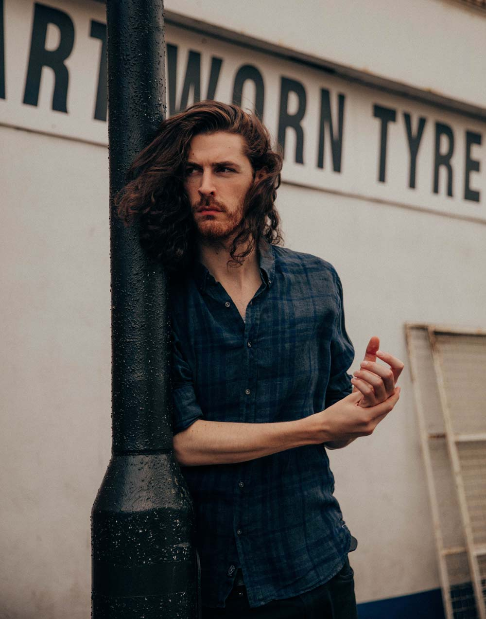 Hozier will play a sell-out performance at Cardiff's St David's Hall in September, 2019. Photo by Edward Cooke.