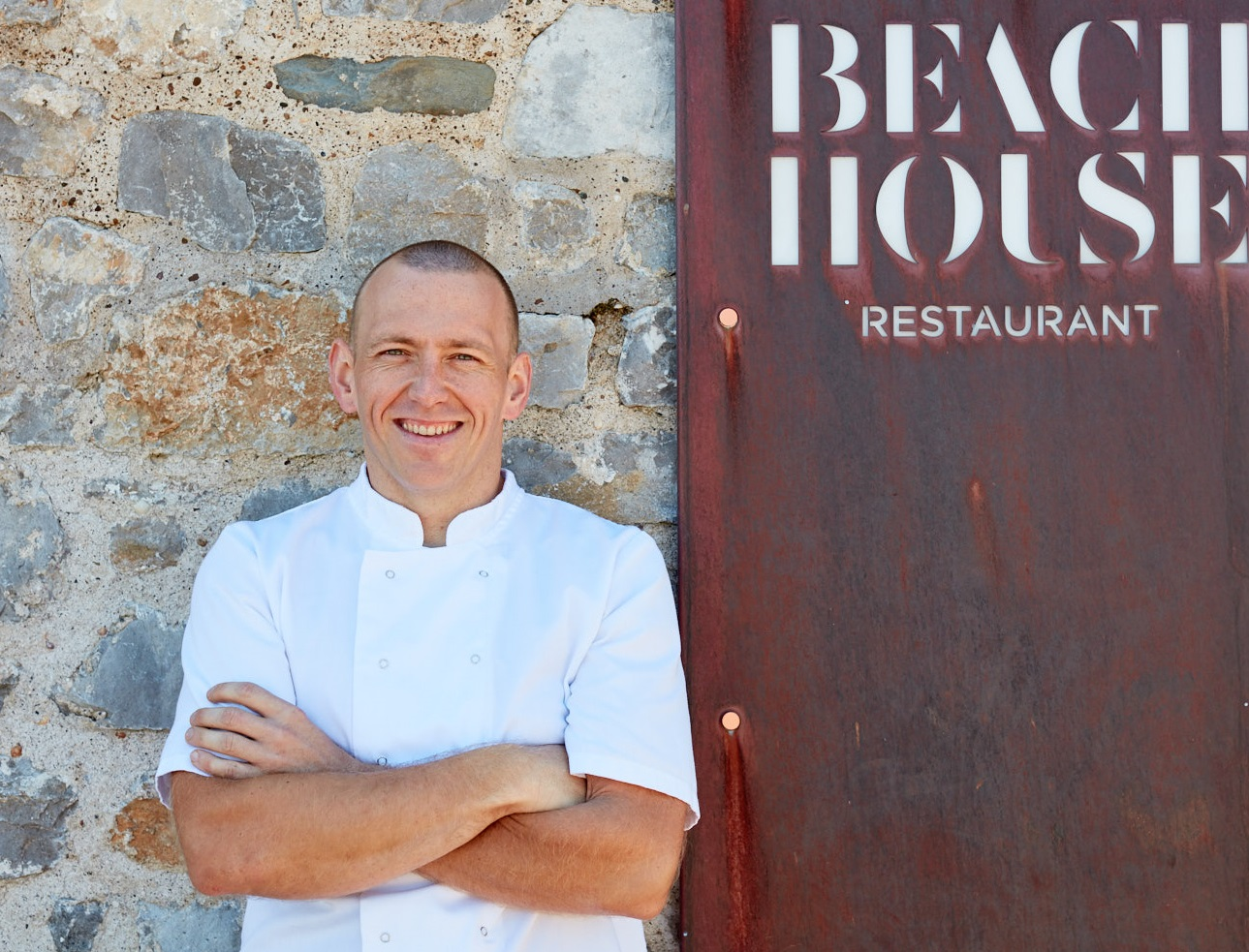 Hywel Griffith of Beach House in Oxwich on the Gower Peninsular is among the line-up of speakers at 2019's Abergavenny Food Festival.