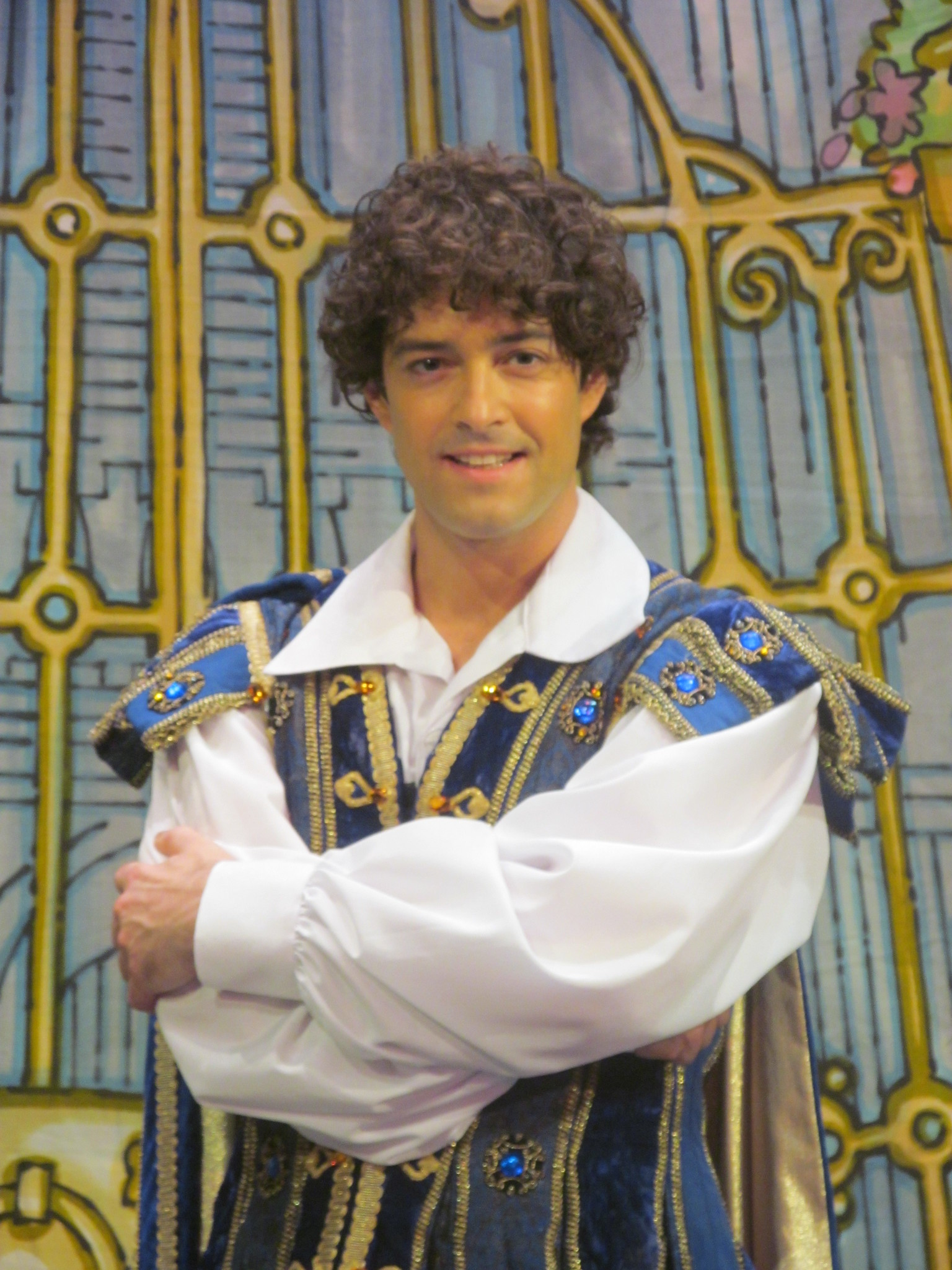 Lee Mead will play Prince Charming at Cardiff New Theatre's Christmas 2014 pantomime, Cinderella. Photo: Andy Howells