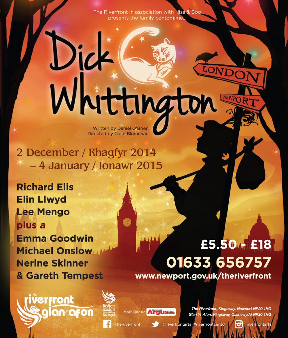 The 2014-15 Newport Riverfront pantomime, Dick Whittington.