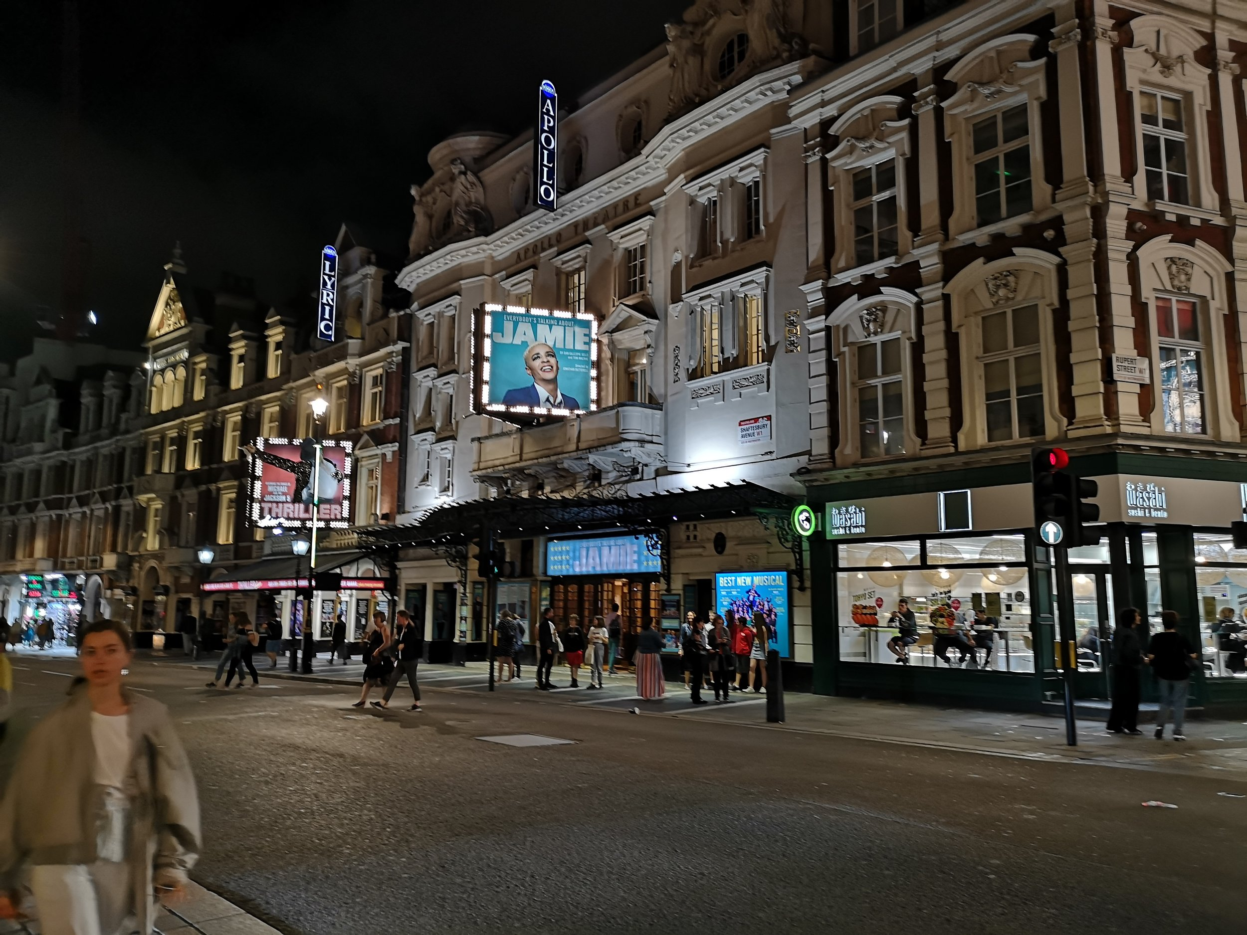 Everybody's Talking About Jamie  is running at The Apollo Theatre, London, Photo: Rachel Howells