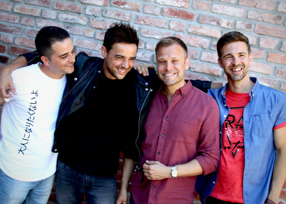 A1, consisting of Ben Adams, Paul Marazzi, Mark Read and Christian Ingebrigtsen will take part in The Boys are Back tour which plays Cardiff's St David's Hall on March 23, 2020.