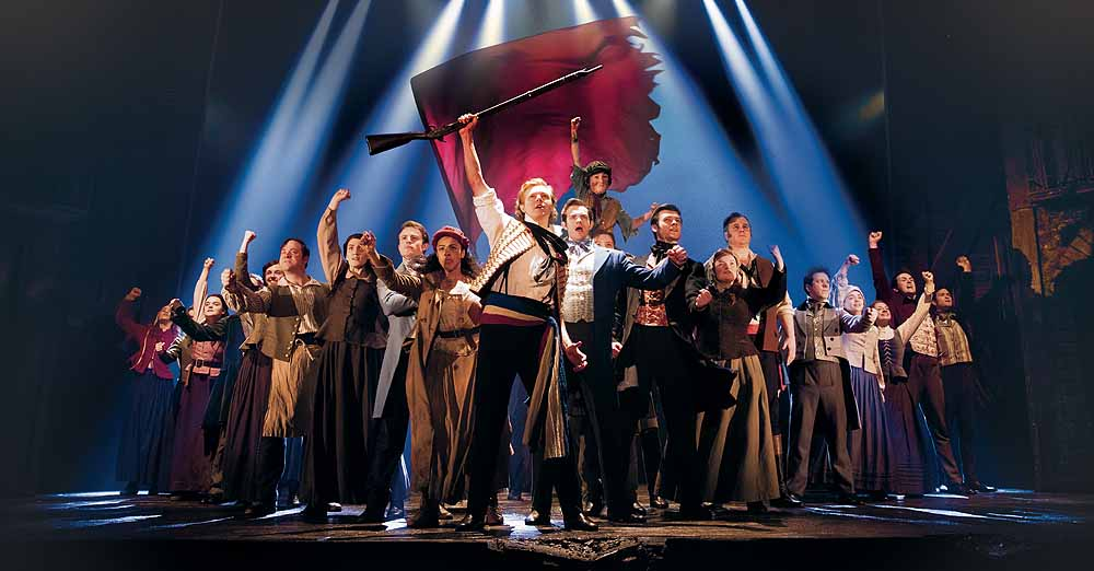 One Day More in Les Miserables, which plays The Bristol Hippodrome from Tuesday 7 April – Saturday 9 May 2020..Photo Matthew Murphy