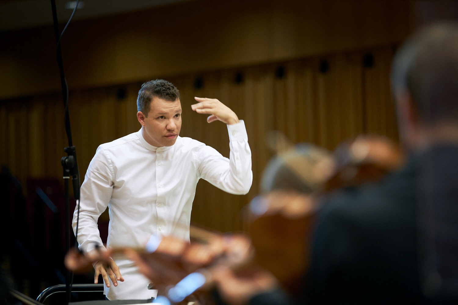 Ryan Bancroft is the new Principal Conductor of BBC National Orchestra of Wales from September 2020. Picture credit:  B.Eavolega