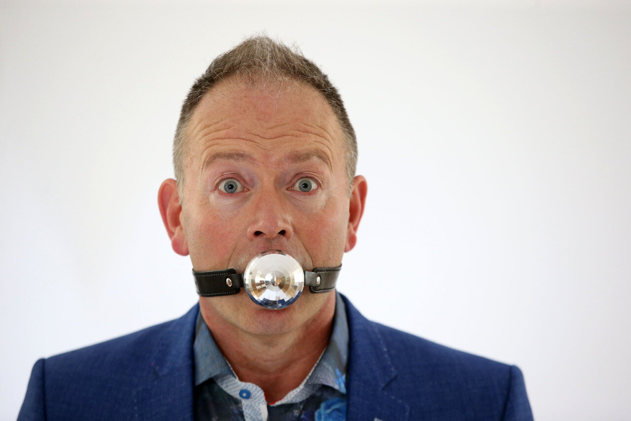 Shut Your Mouth!  plays The Riverfront on Wednesday 16 October (yn Gymraeg) and Friday 18 October (in English)