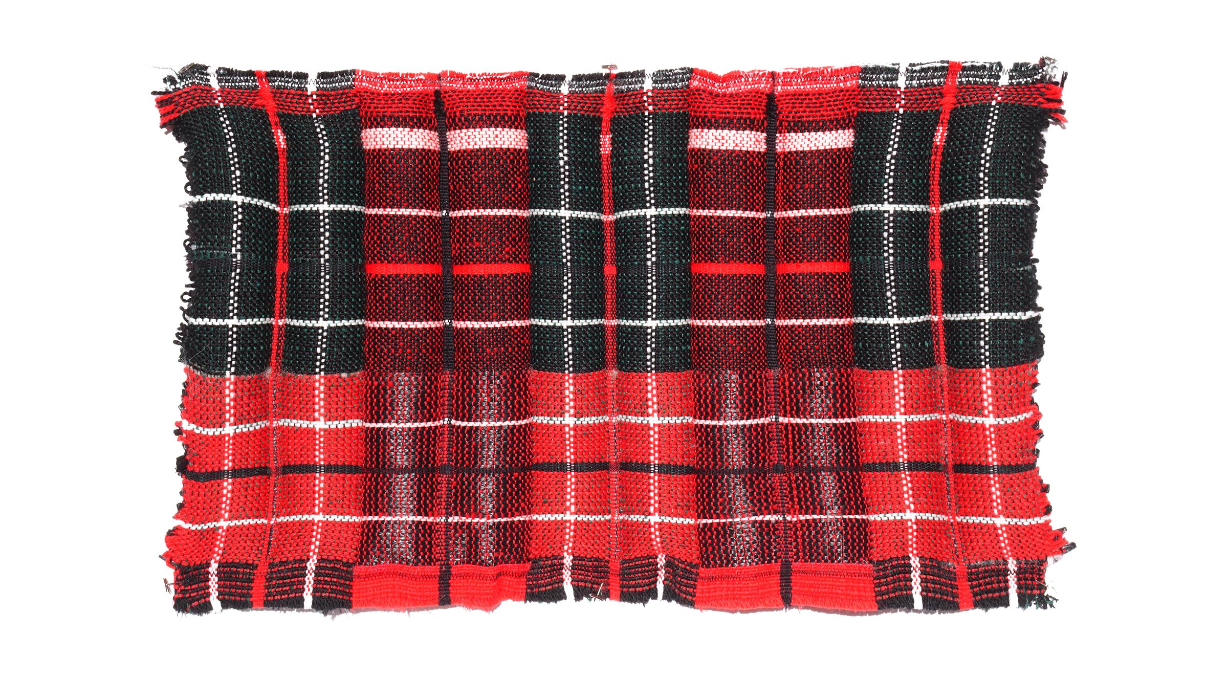 V Puff B Custom handwoven textile plaid puff .jpg