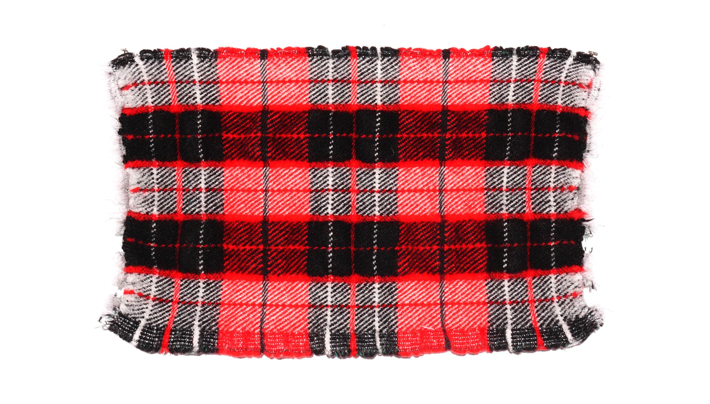 Pleat B felted wool handwoven textiles plaid.jpg