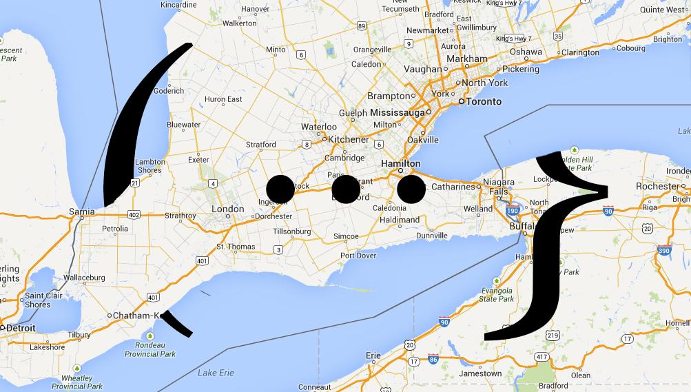 South Ontario Ellipses
