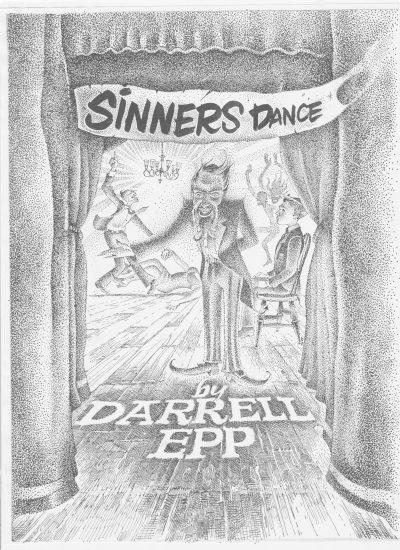 Darrell Epp.  Sinners Dance . Mosaic Press, $17.99, 104 pp., ISBN:9781771612852