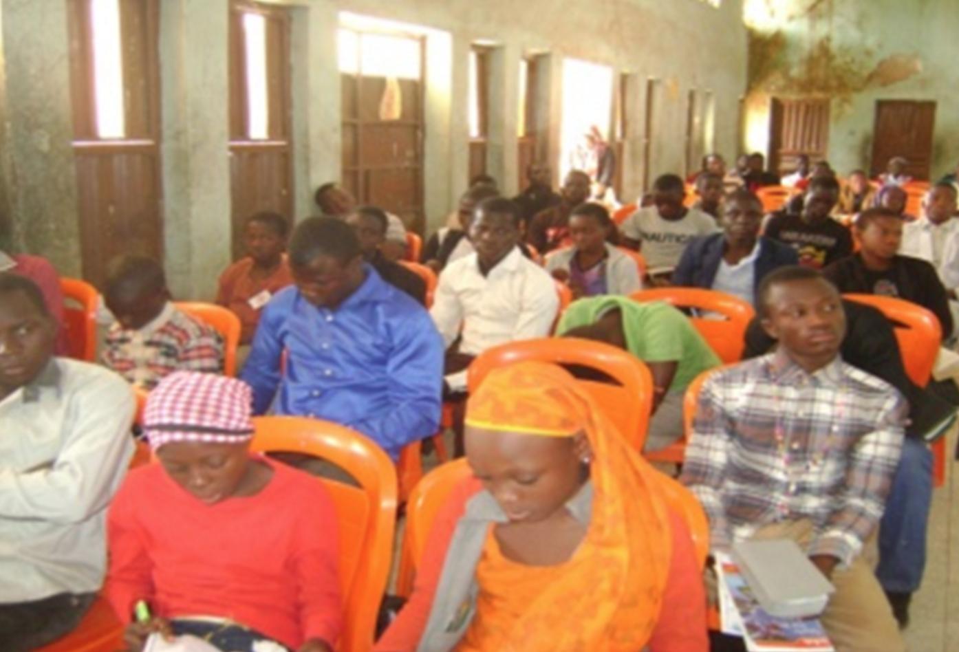 A selection of conference participants — Kaduna, Nigeria
