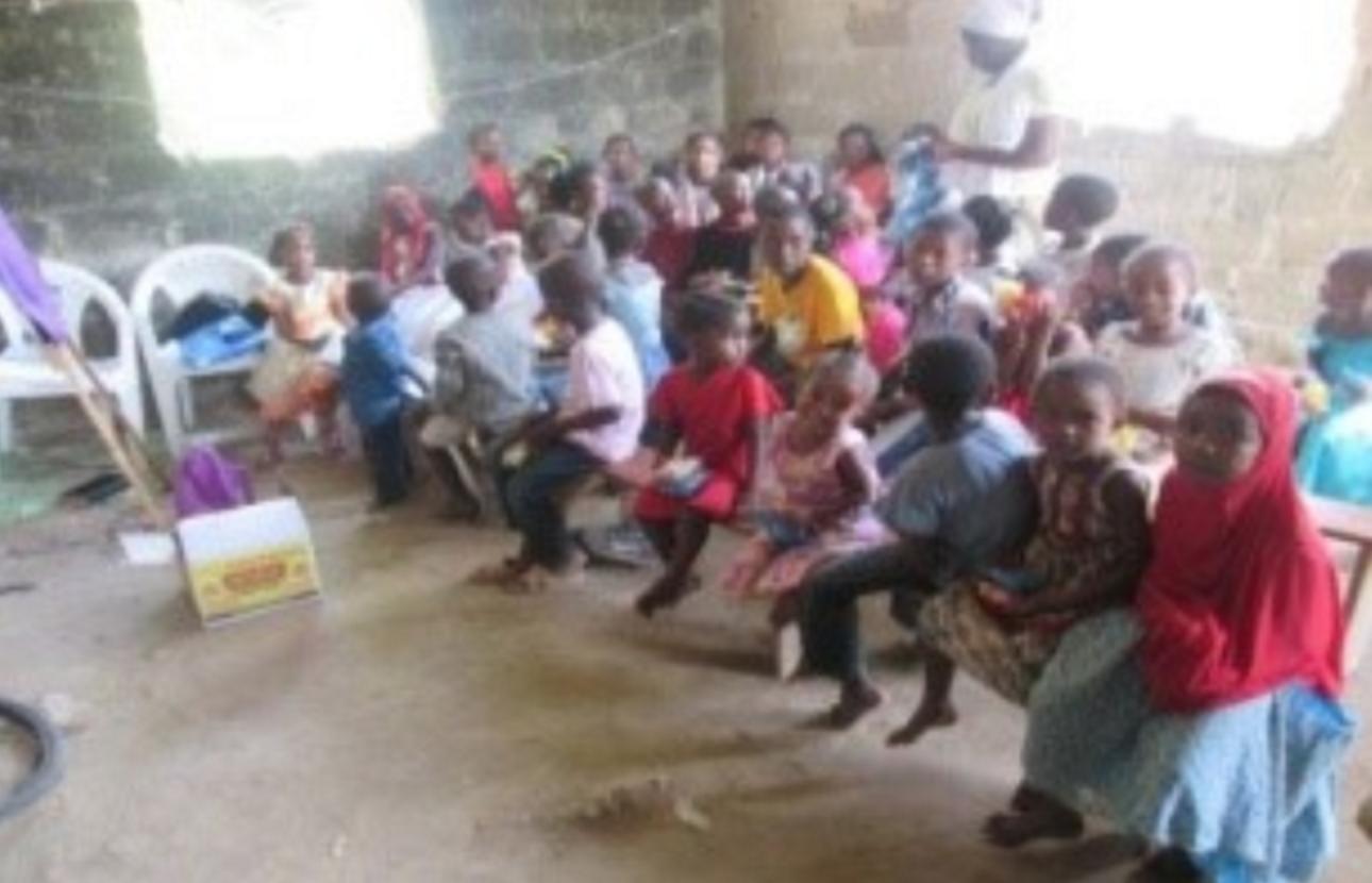 Ministering to children — Zanzibar, Tanzania