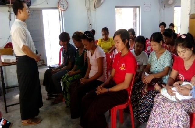 Worship Service Myanmar