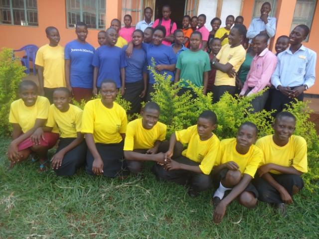 Bible Club members - Uganda