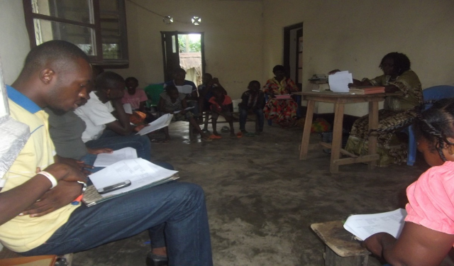 Leaders Camp Group Activity - Congo DR