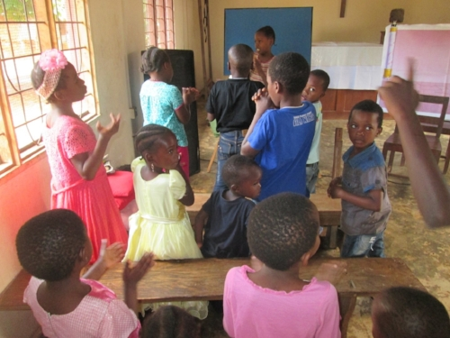 Most exciting ministry to the children of Zanzibar