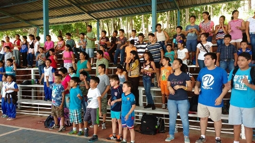 Children and Youth at Bible Camp ~ Guatemala