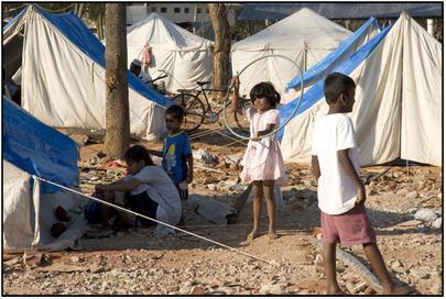 shoeless kids in tsunami camps.jpg