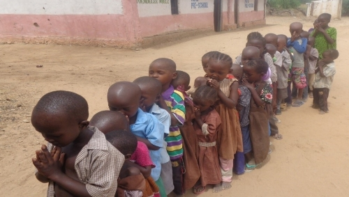 Ready for the class – Kenya