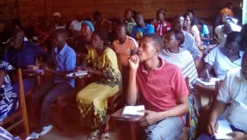 Participants at Camp - Bunia, Congo DR