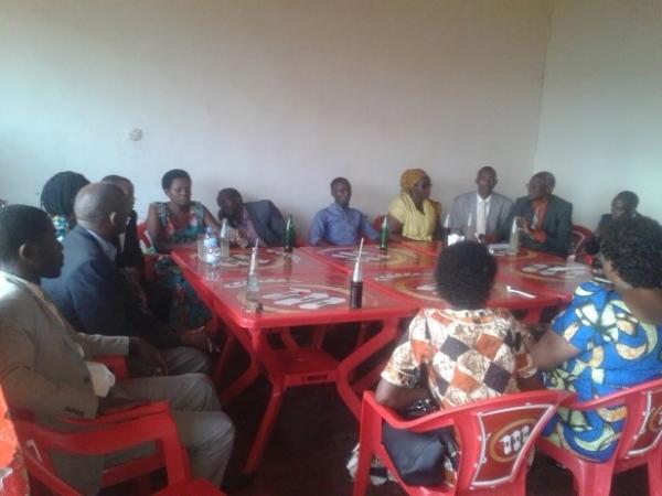 Team Members Sharing After Ministry Trip – Rwanda