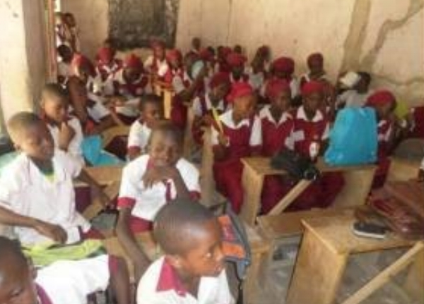 Bible Club Meeting – Secondary School – Nigeria