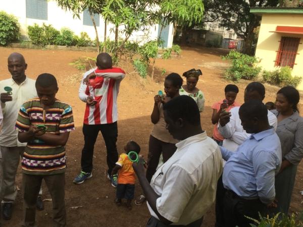 Training in Guinea