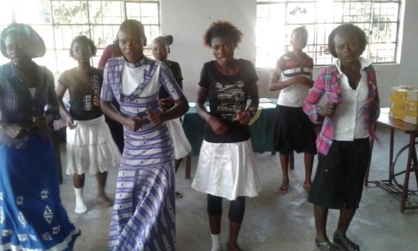 Celebrating Graduation – BAMATU Center, Congo