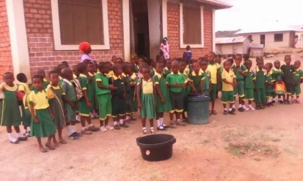 Children of Kivinje Coast Nursery Academy, Tanzania