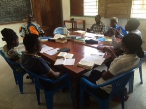 Training in Progress - Mozambique