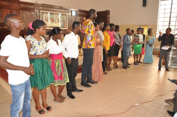 School Graduates Actively Ministering in their Churches - Gambia