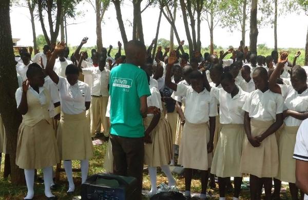 Ministering to New Believers - Uganda