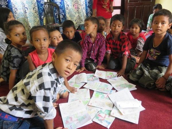 Children at Camp - Nepal