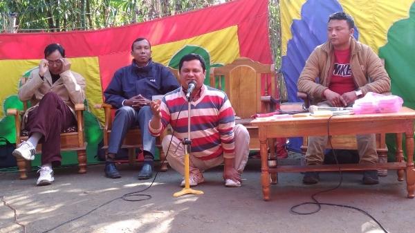 Punchi Preaching the Gospel - India