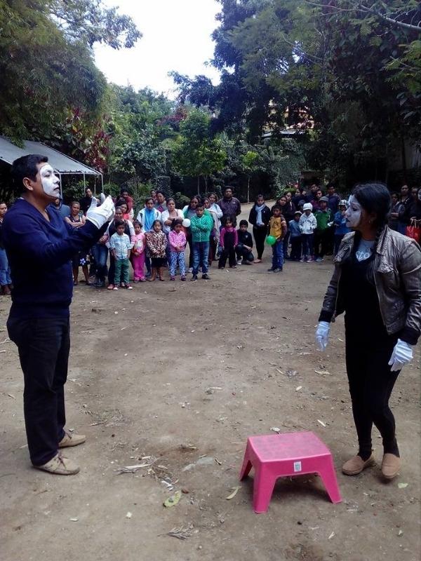Christmas Activity in Casa Mana - Guatemala