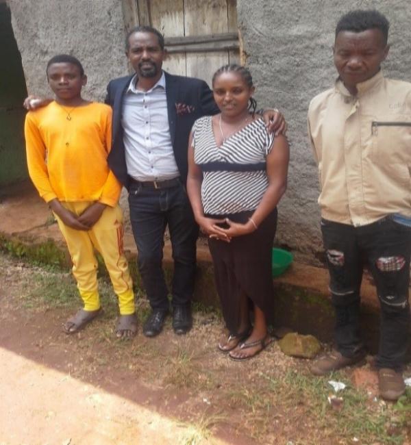 Bereket with the New Believers – Yergalem, Ethiopia