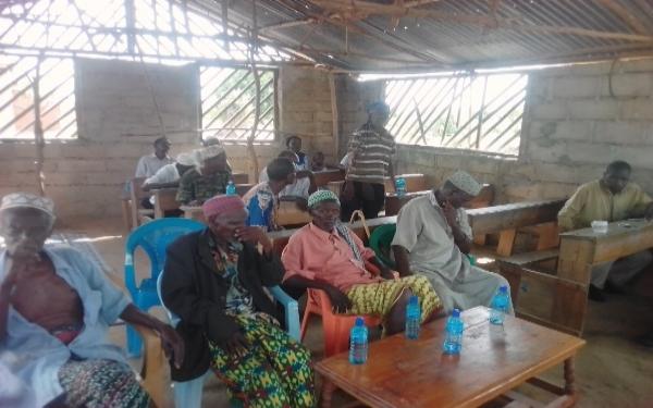 Dedication of the Church Hall – Kenya
