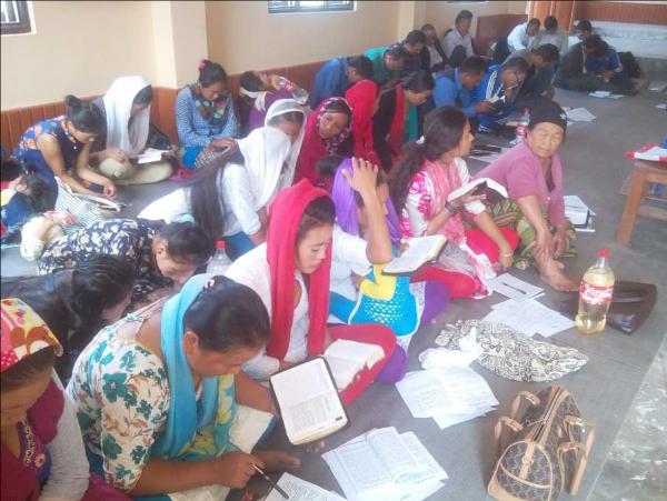 Adult Bible Camp - Nepal