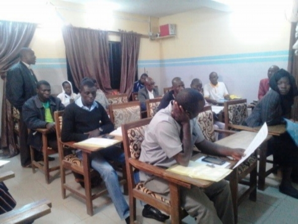 A Session During the Writers' Workshop – Jos, Nigeria