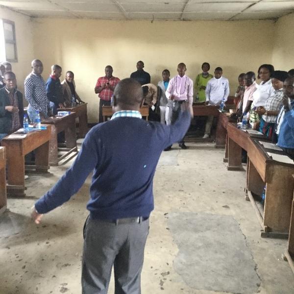 Sunday School Training – Congo DR