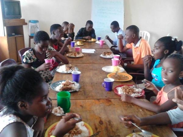 Break Time, Junior Leaders' Training – Congo DR
