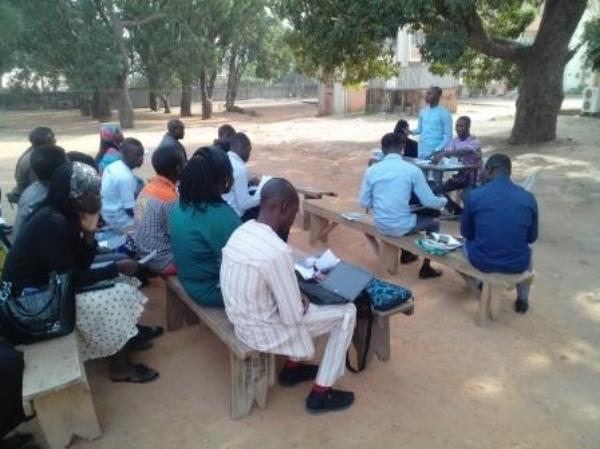 A Session at the Student Leaders' Training – Kaduna, Nigeria