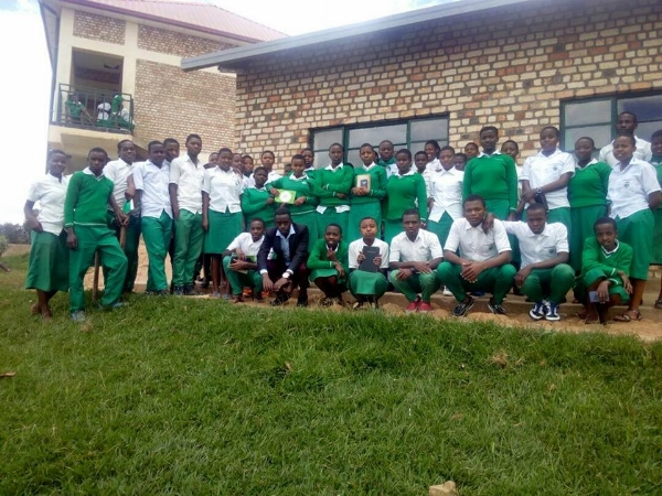 Bible Club Members, Kigeme School - Rwanda