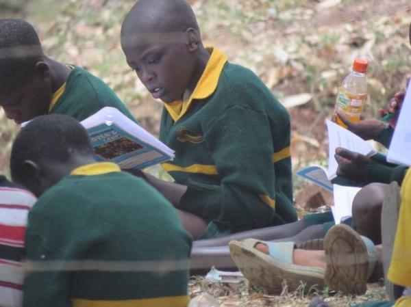 Small Group at Camp – Uganda