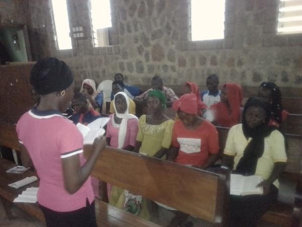 Bible Club in Session – Borno State, Nigeria