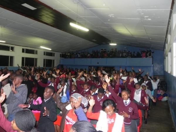 Worship at Camp – Swaziland