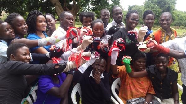 Puppetry Training - Uganda