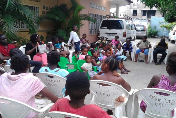 Wednesday Bible Club - Kinshasa, Congo